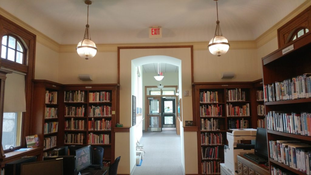 Historic Carver Library Becomes Brighter